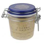 Пилинг для тела с квасцовым камнем Амбра Ambre Alum stone scrubs with honey and royal jelly Charme d'Orient